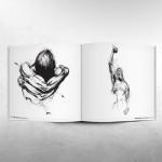 Derek Hess: Black Line - White Lie