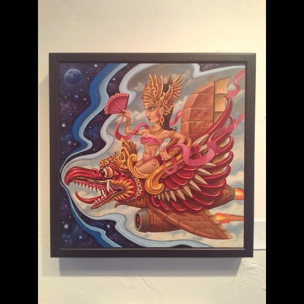 Garuda Girl by Pooch