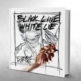 Derek Hess: Black Line - White Lie