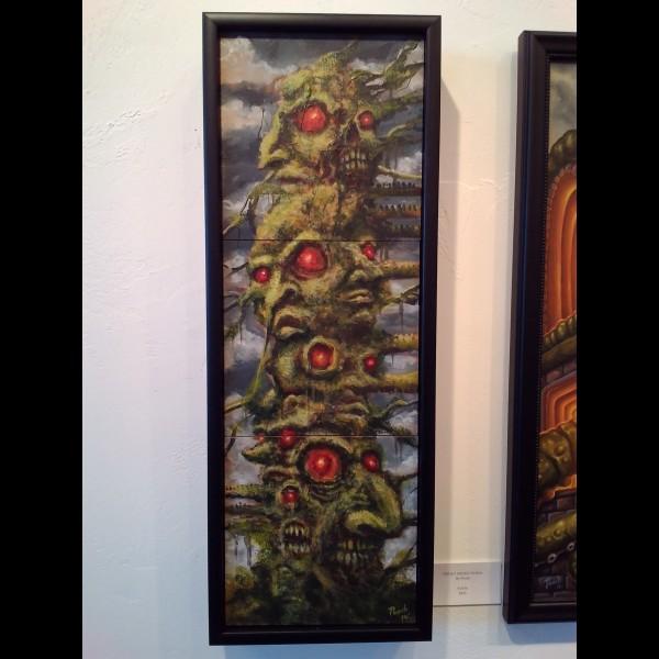 Sticky Green Totem by Pooch