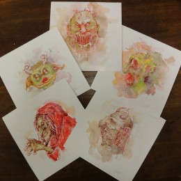 Seldon Hunt Prints - Set 1