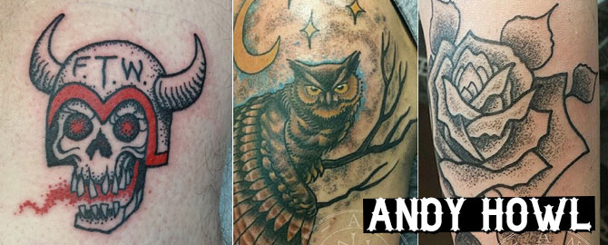 Andy Howl Tattoo