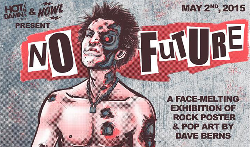 NO FUTURE: THE ART OF DAVE BERNS