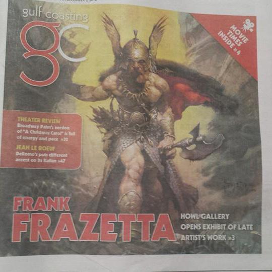 frank frazetta cover feature