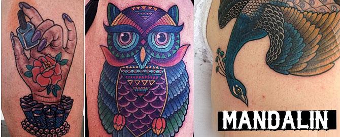 mandalin tattoo