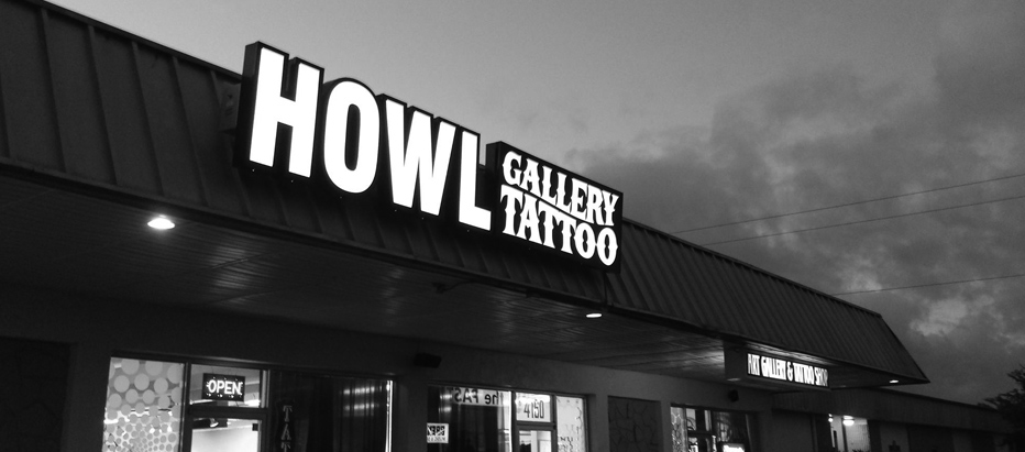 HOWL tattoo piercing ft myers